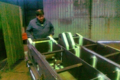Badanie magnetyczno-proszkowe konstrukcji stalowej
